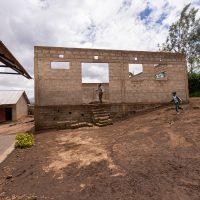 Några färska bilder rörande bygget av ny matsal/kök på Gracious school i Tanzania.